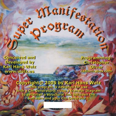 Supermanifestation Radionics Program